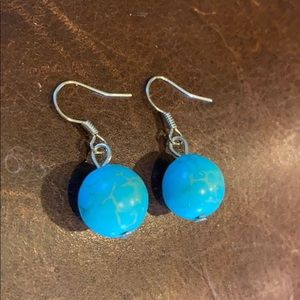 NEW Turquoise Drop Earrings